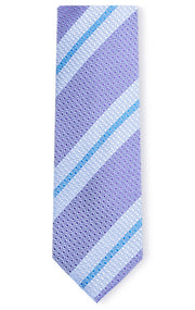 DYLAN PURPLE STRIPE TIE