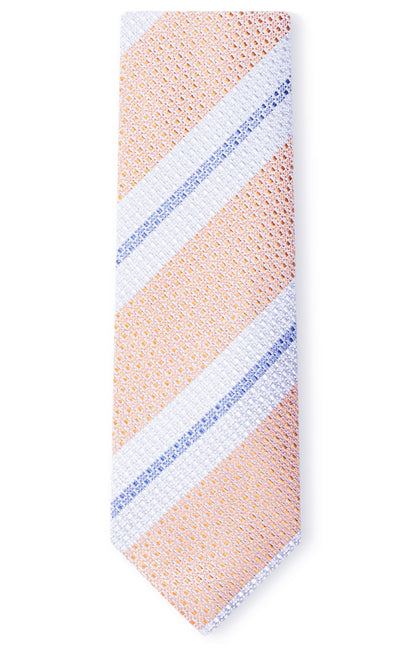 DYLAN ORANGE STRIPE TIE