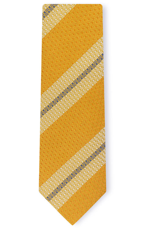 JAMES GOLD STRIPE TIE