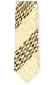 GRAYSON YELLOW STRIPE TIE