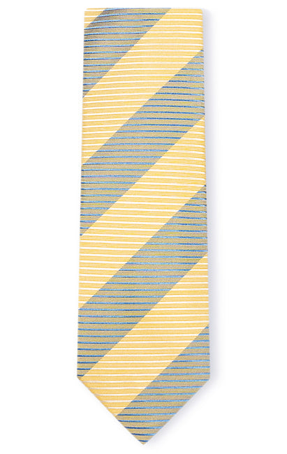 LEVI YELLOW STRIPE TIE
