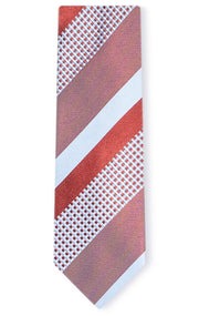 GABRIEL RED STRIPE TIE