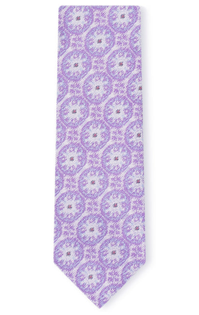 THOMAS PURPLE GEO TIE