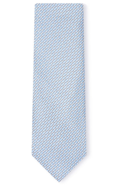 HUNTER BLUE GEO TIE
