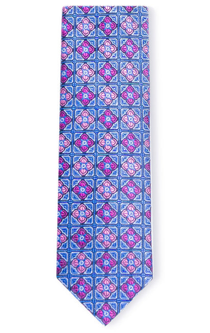 JAMES BLUE GEO TIE