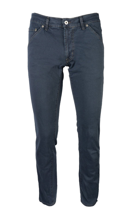 GABARDINE DARK BLUE SLIM FIT STRETCH DENIM