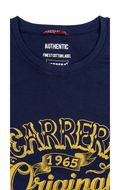 CARRERA ORIGINAL NAVY GRAPHIC TEE