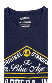 BLUE AGE NAVY GRAPHIC TEE