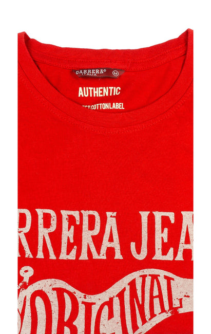 CARRERA RED GRAPHIC TEE
