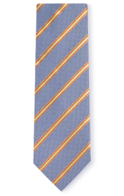 CONNOR BLUE STRIPE TIE