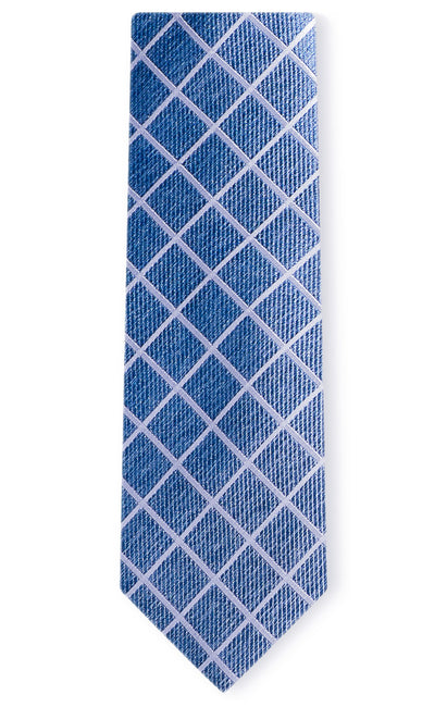 EASTON BLUE PLAID TIE