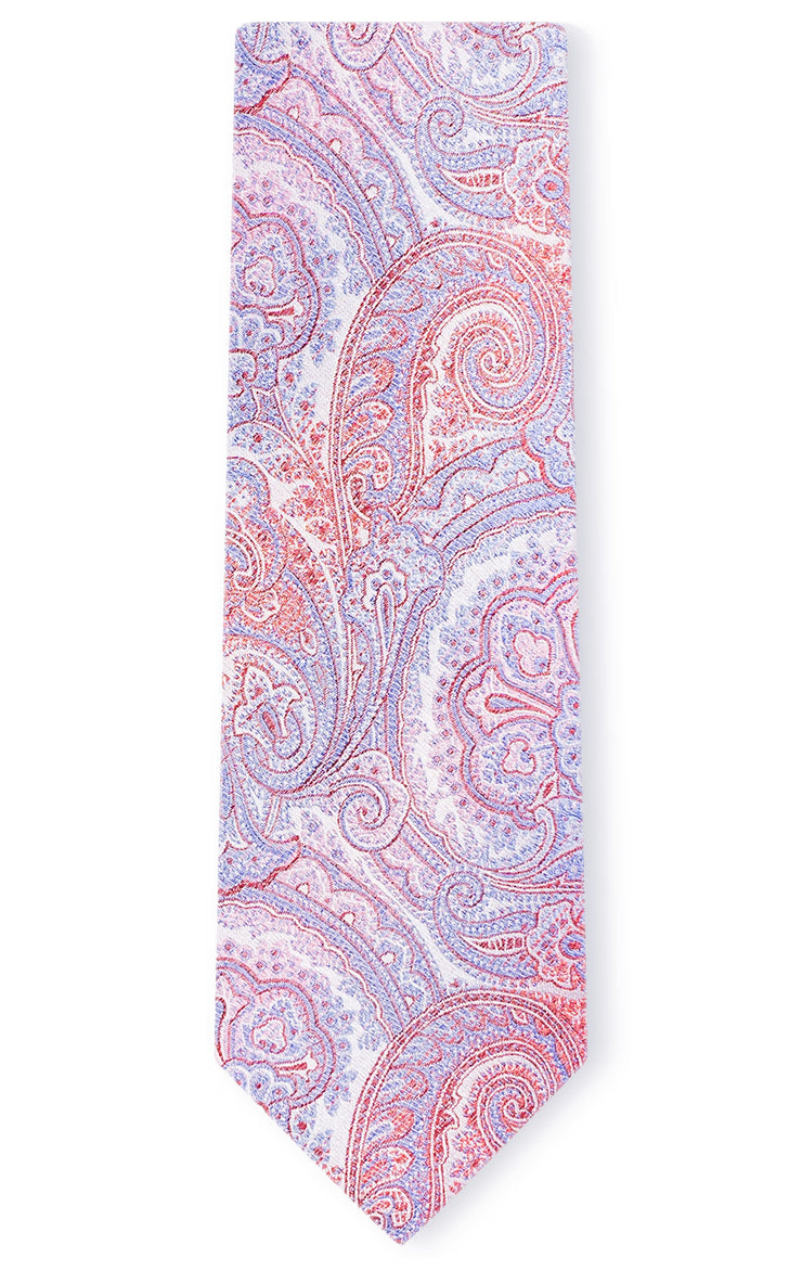COLTON RED PAISLEY TIE