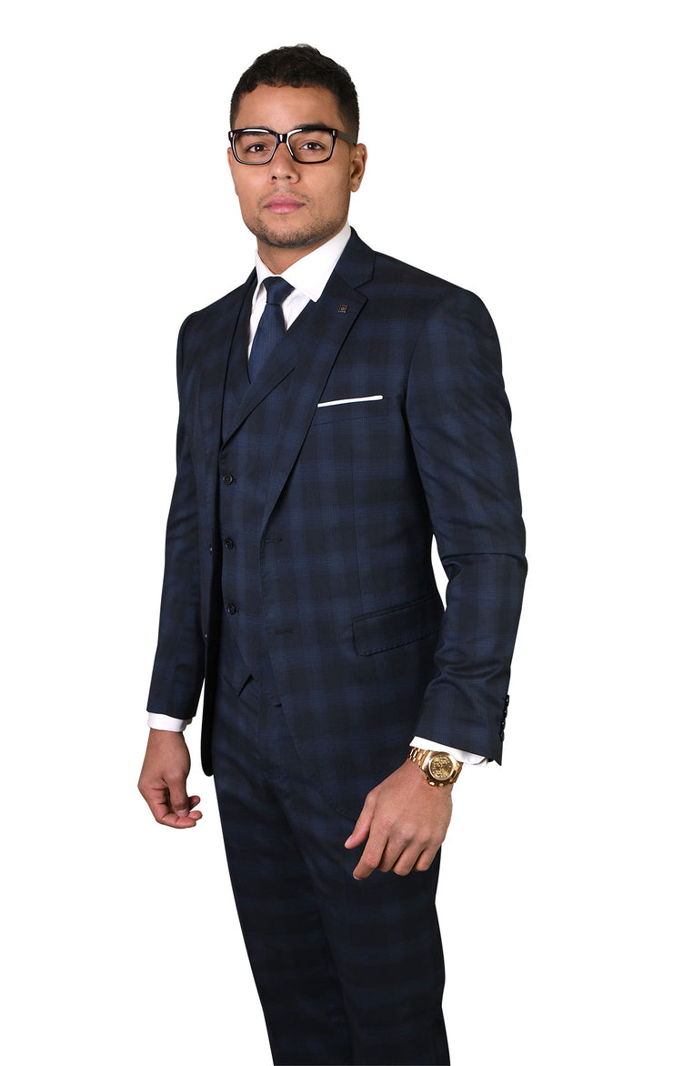 ALISTER MIDNIGHT TAILORED FIT 3 PC SUIT