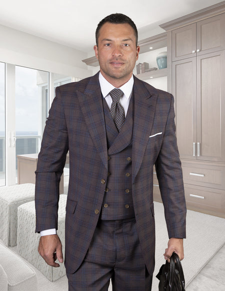 DAVID BROWN REGULAR FIT 3 PC SUIT