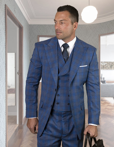 TED SAPPHIRE REGULAR FIT 3 PC SUIT