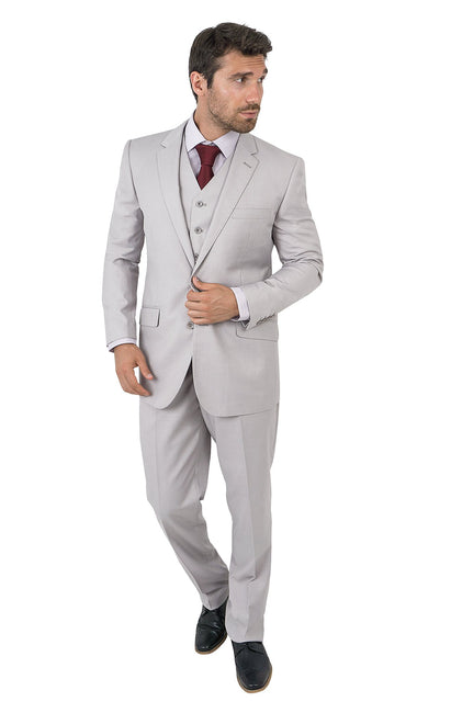 HARPER ASH TAILORED FIT 3 PC SUIT