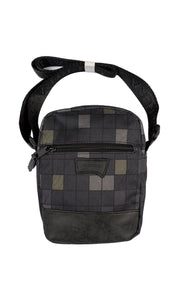 GREY CHECKERED BAG
