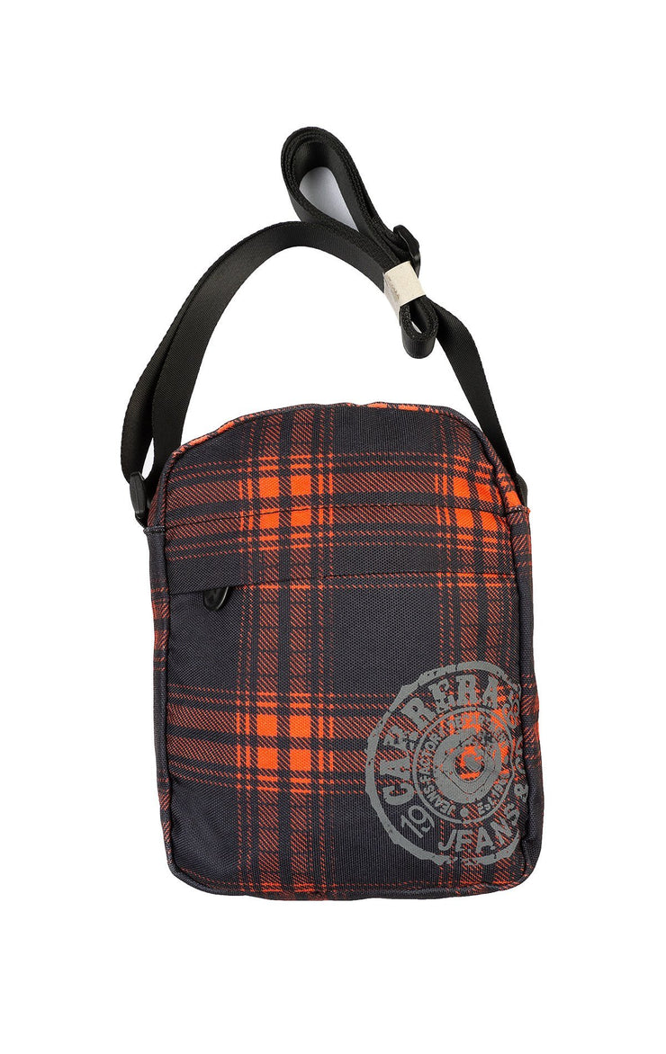 CLASSIC RED PLAID BAG