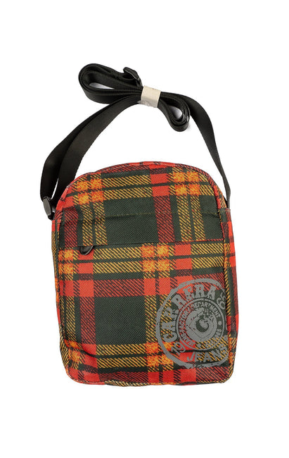 CLASSIC GREEN PLAID BAG