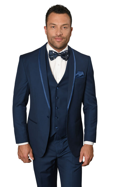 HECTOR SAPPHIRE TAILORED FIT TUXEDO