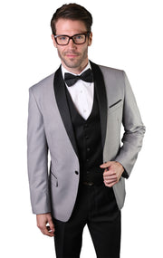 IRVIN GREY TAILORED FIT TUXEDO