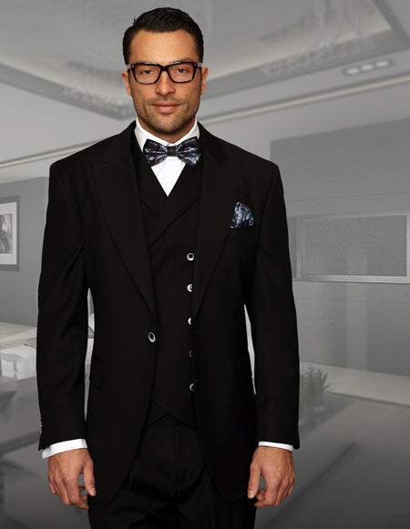 FREDERICK BLACK REGULAR FIT SUIT