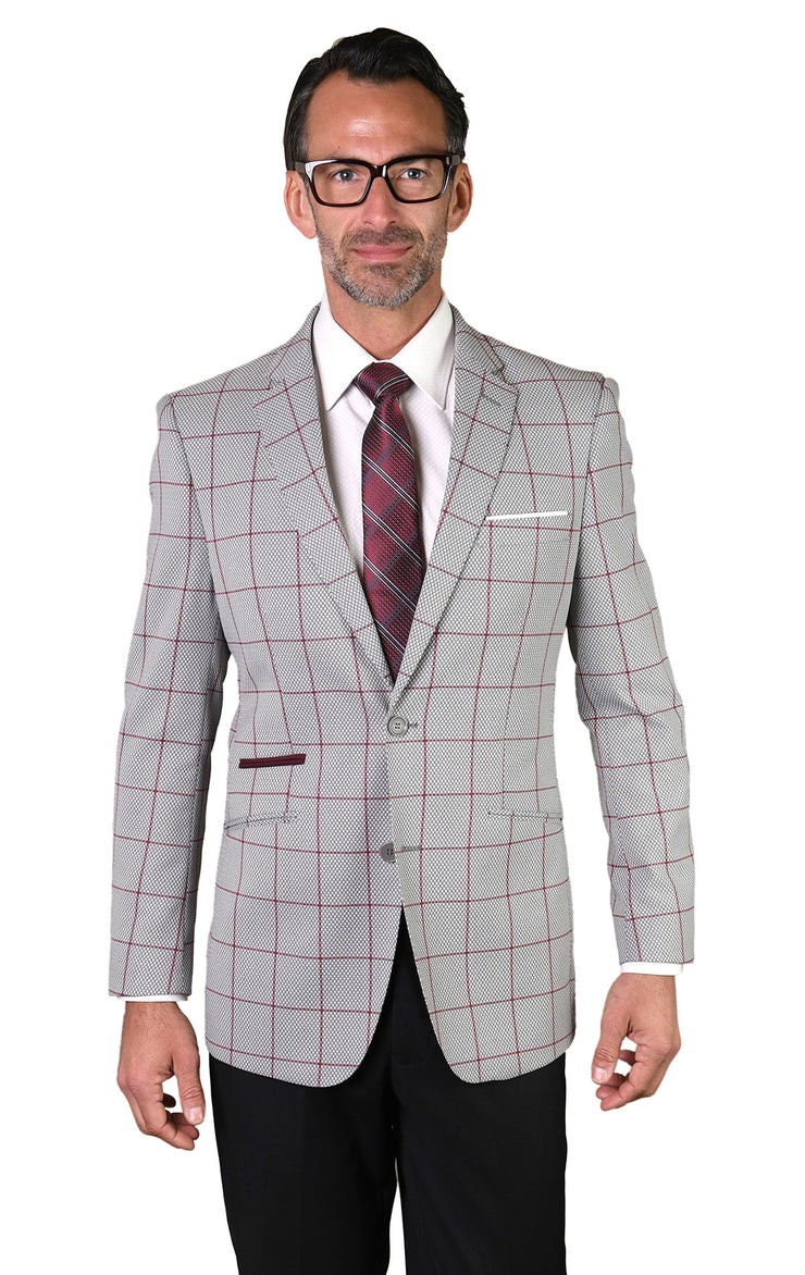 FELIX GREY TAILORED FIT JACKET