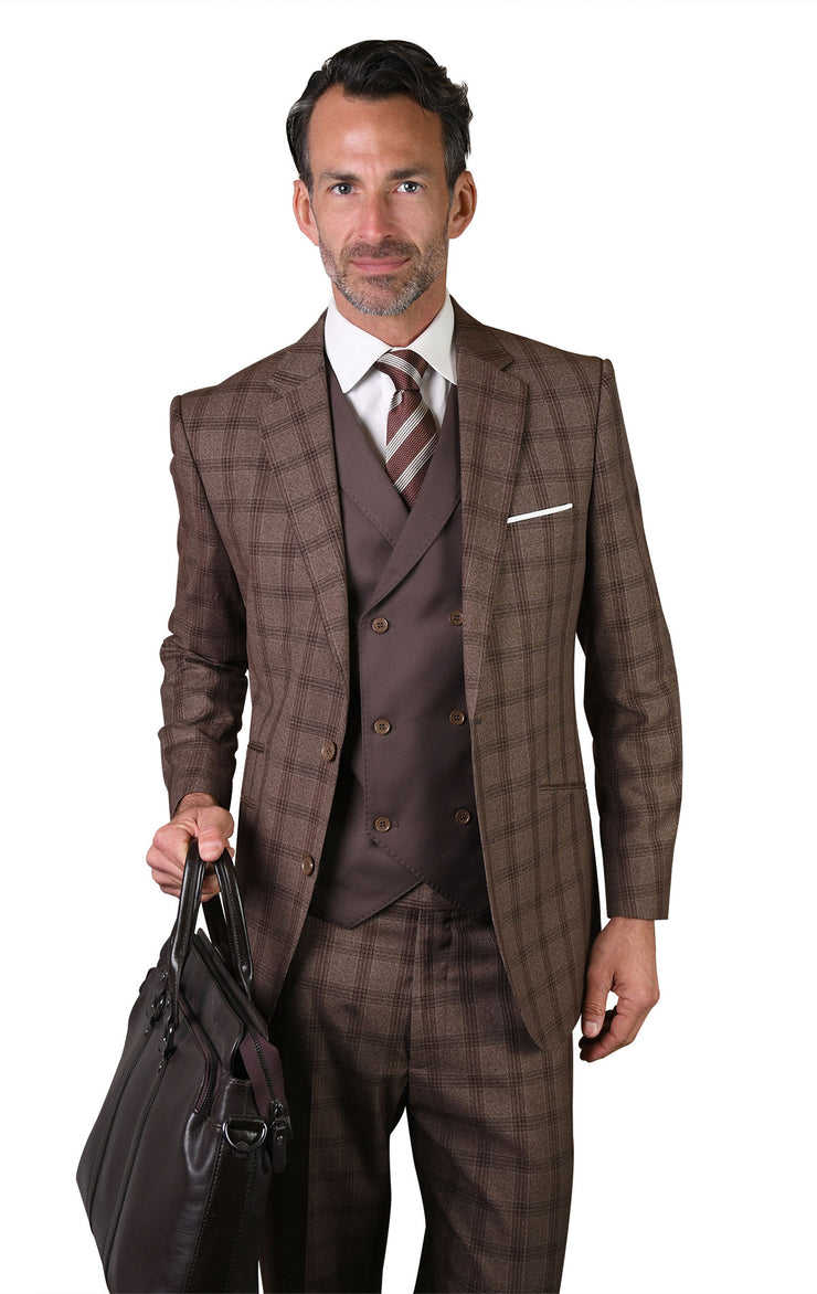 DWIGHT COCO MODERN FIT 3 PC SUIT