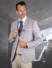 SWANSON SAND SLIM FIT 3 PC SUIT