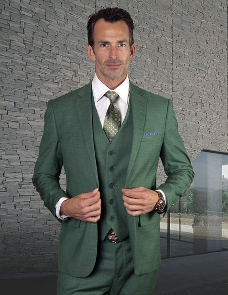 MARKOV FOREST SLIM FIT 3 PC SUIT