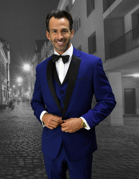 BRIXTON SAPPHIRE TAILROED FIT TUXEDO
