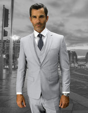 LORENZO ASH SLIM FIT 3 PC SUIT