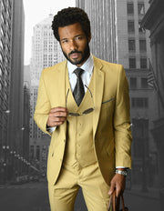 CHAD CHESTNUT SLIM FIT 3 PC SUIT