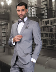 JENSEN GREY SLIM FIT 3 PC SUIT