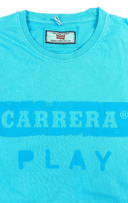 PLAY BLUE GRAPHIC TEE