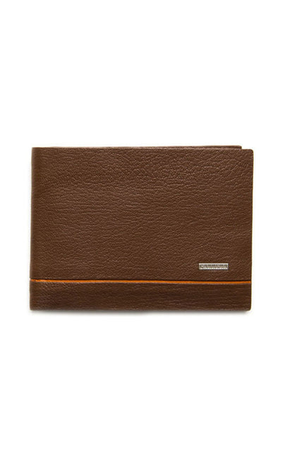 BROWN BIFOLD WALLET