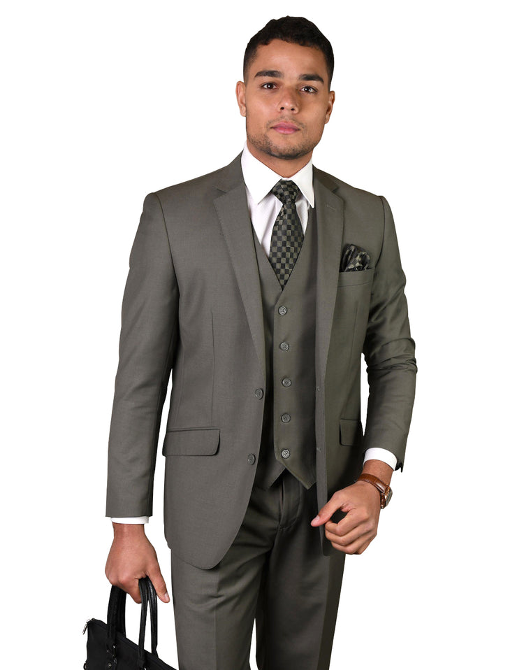 FRANKLIN SAGE TAILORED FIT 3 PC SUIT
