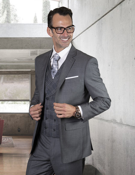 RIAN GRAY TAILORED FIT 3 PC SUIT