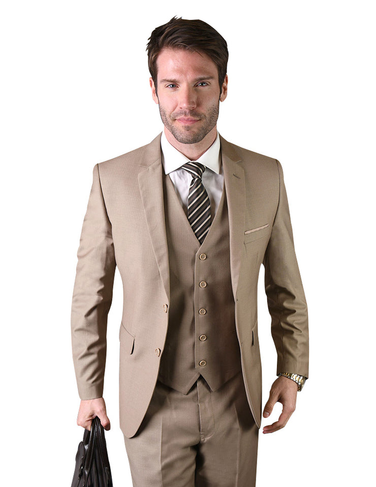 PATRICK TAN SLIM FIT 3 PC SUIT