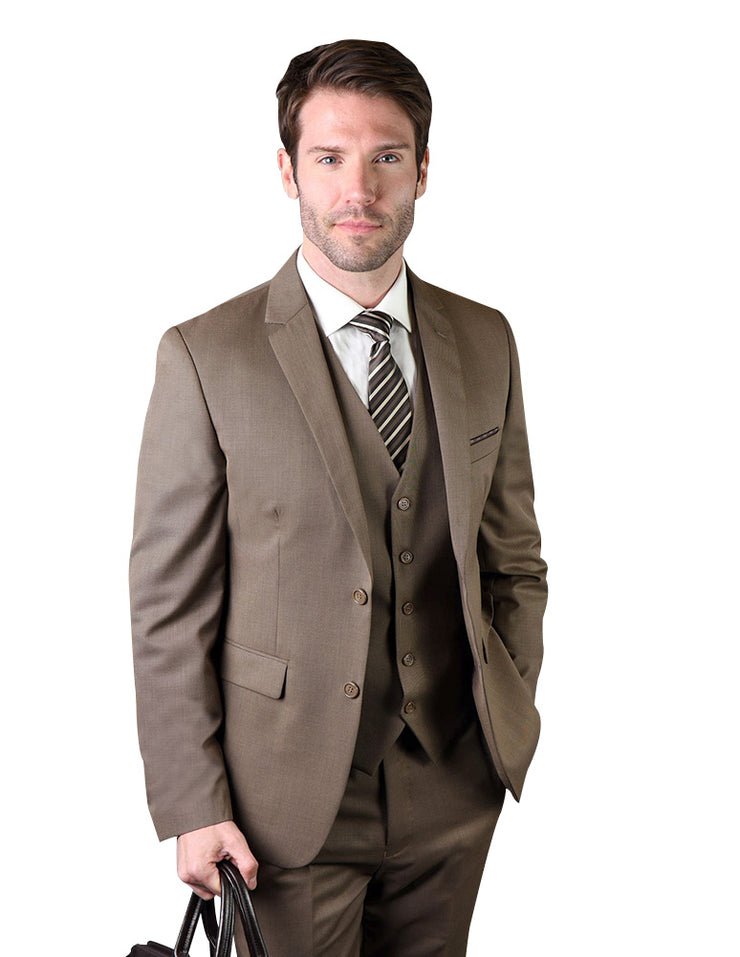 CHARLES TAN SLIM FIT 3 PC SUIT
