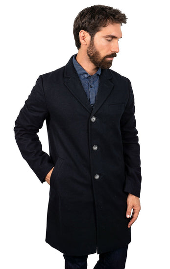 DANNY BLUE TRAVEL COAT
