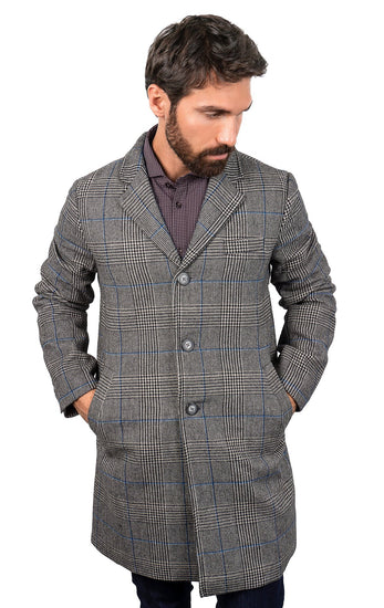 DANNY GREY TRAVEL COAT