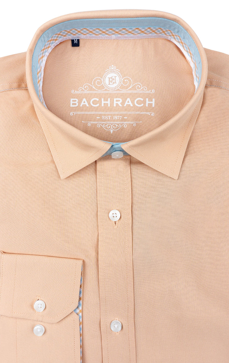 BALDWIN PEACH LONG SLEEVE WOVEN