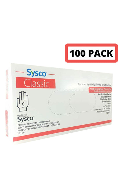 Latex Disposable Gloves - 100 PCS (1 Box)