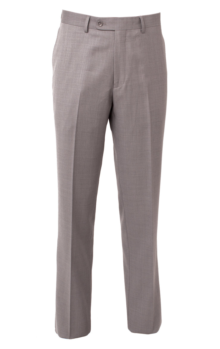 FERNANDO LIGHT GREY FF MODERN FIT PANT