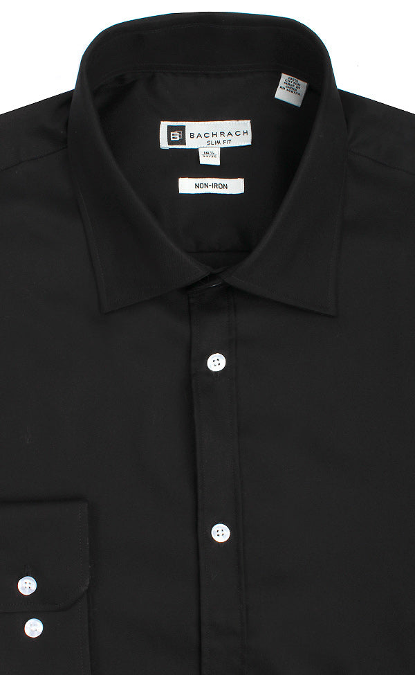 afbaabad1119 BLACK SLIM FIT NON IRON BC DS