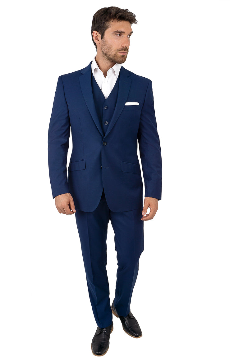 FERRIS SAPPHIRE TAILORED FIT 3 PC SUIT