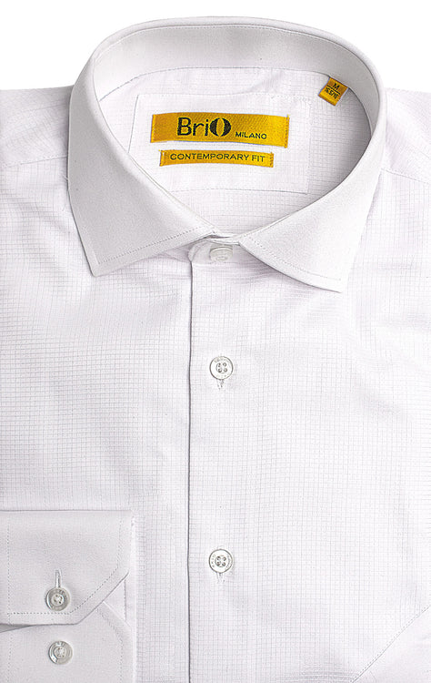 SHCWARTZ WHITE DRESS SHIRT
