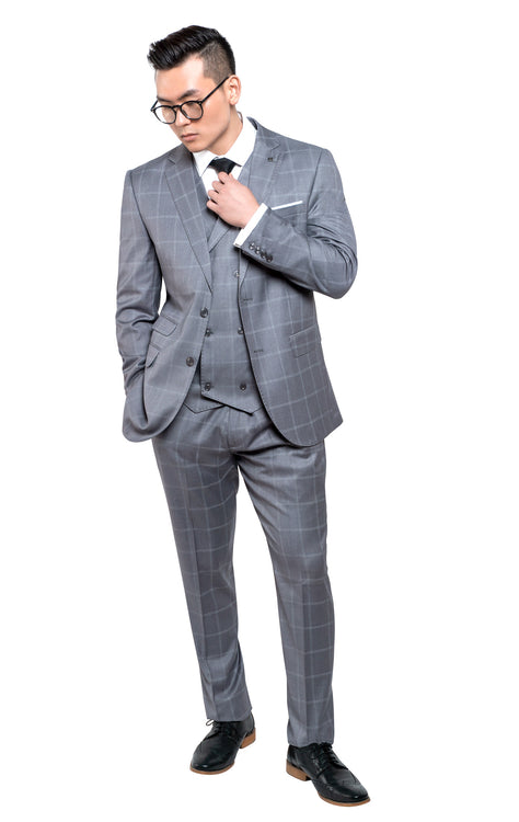 MANCHESTER GREY STATEMENT SUIT