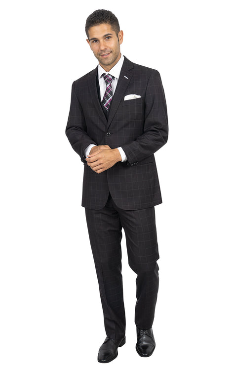 MILLER TAILORED FIT 3 PC SUIT